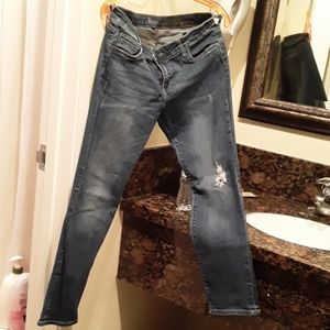 short style jeans